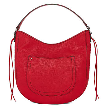 Red Hobo Bags for Handbags   Accessories - JCPenney 0e1c3859197d5