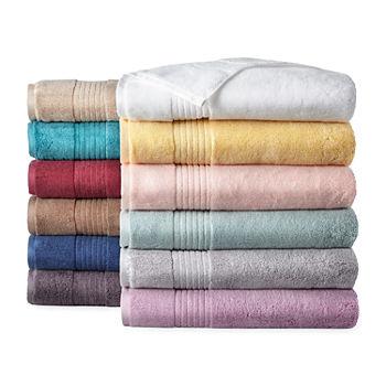 Bathroom Towel Sets | Liz Claiborne Signature Plush Bath Towel Collection