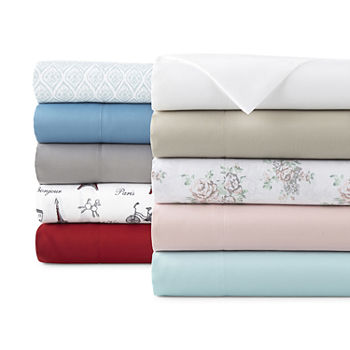 Home Expressions Microfiber Plus Ultra Soft Easy Care Wrinkle Resistant Sheet Set