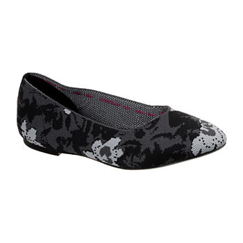 Skechers Womens Cleo-Camfloral Ballet Flats