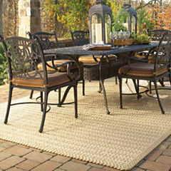 Capel Boathouse Indoor/Outdoor Reversible Braided Rug