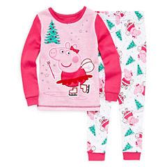 Peppa Pig Pajama Set Girls