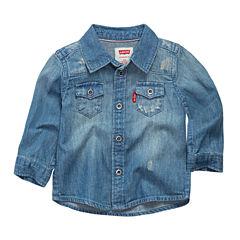Levi's Short Sleeve Button-Front Shirt Boys