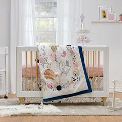 Living Textiles Stella Crib Skirt