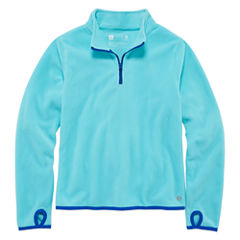 Xersion Performance 3/4 Sleeve Fleece Pullover - Girls' 7-16 and Plus
