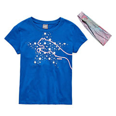 Puma Puma Kids Apparel Graphic T-Shirt-Big Kid Girls