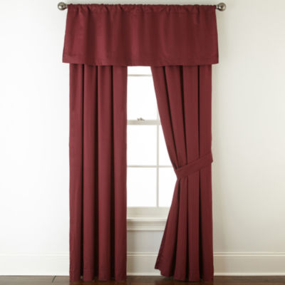 royal velvet rodpocket curtain panel