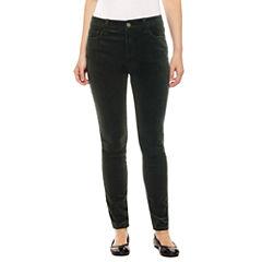 St. John's Bay Corduroy Skinny Fit Corduroy Pants