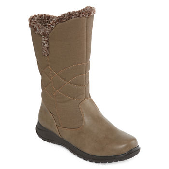 d8fd121add1c8 Propet Womens Waterproof Insulated Winter Boots Flat Heel Zip. Add To Cart.  Stone. Dark Brown. BUY MORE AND SAVE WITH CODE  8TOSAVE