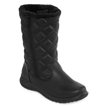 942e227937e4 Totes Womens Elsa-Tw Waterproof Winter Boots Zip