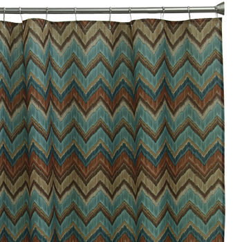 aqua and brown shower curtain. shop the collection Bacova Guild Shower Curtains for Bed  Bath JCPenney