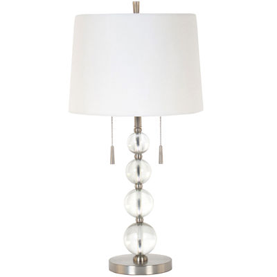 Superb JCPenney Home™ Clear Glass Table Lamp
