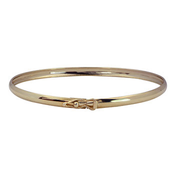 14K Gold Kids' Bangle Bracelet