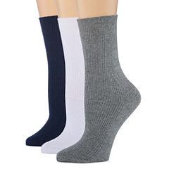 Berkshire Non Binding 3 pr Crew Socks - Womens