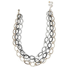 Bold Elements Womens 20 Inch Link Necklace
