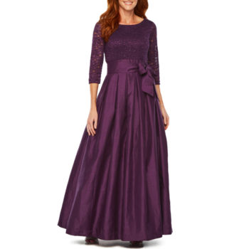 Image result for Jessica Howard 3/4 Sleeve Ball Gown jcpenney