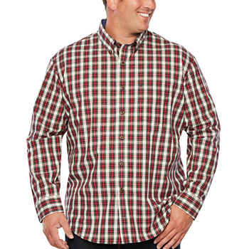 0f61b383203b Woven Button-front Shirts Shirts for Men - JCPenney