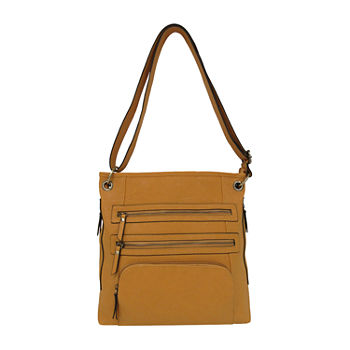Bueno of California Veg Tan Shoulder Bag
