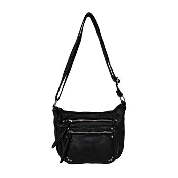 Bueno of California Grainy Washed Crossbody Bag