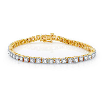 5 CT. T.W. Genuine Diamond 10K Gold 7.5 Inch Tennis Bracelet