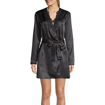 Satin Long Sleeve Pajamas   Robes for Women - JCPenney 649da4979