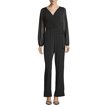 5dd3696303a Long Sleeve Jumpsuits   Rompers for Women - JCPenney