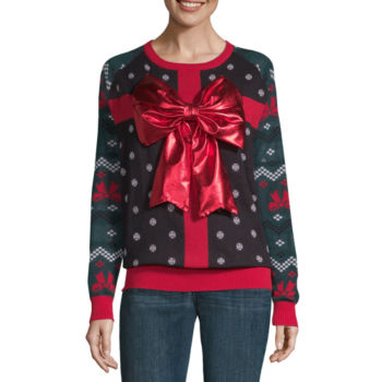 Christmas Sweaters For Women Jcpenney