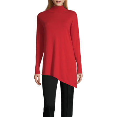 Long Red Sweaters