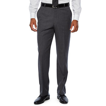 Stafford Travel Mens Striped Stretch Regular Fit Suit Pants - Big and Tall