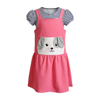 Sweetheart Rose Baby Girls Sleeveless 2-pc. Dress Set