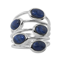Sparkle Allure Simulated Lapis Band