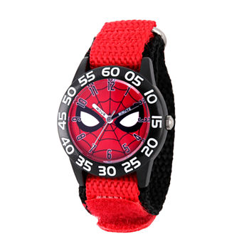 Marvel Marvel Boys Red Strap Watch-Wma000186