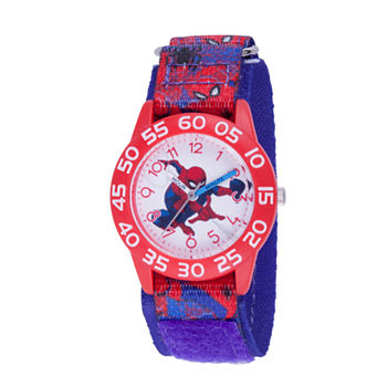 Marvel Marvel Boys Blue Strap Watch-Wma000193