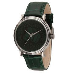 Avengers Mens Green Strap Watch-Wma000206