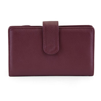 Rfid Blocking Leather Handbags