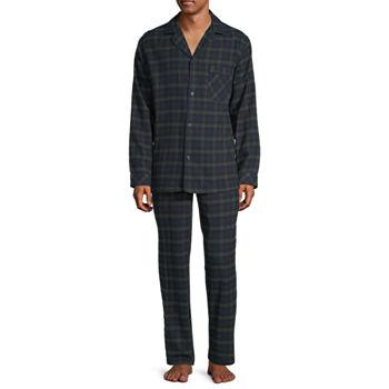 St. John's Bay Men's 2-PC. Flannel Pant Pajama Set