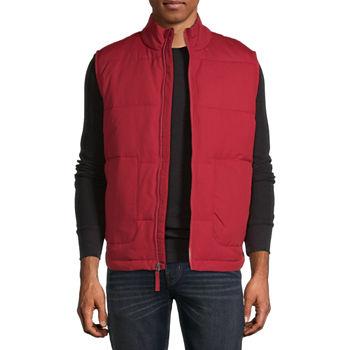 St. John's Bay Solid Puffer Vest
