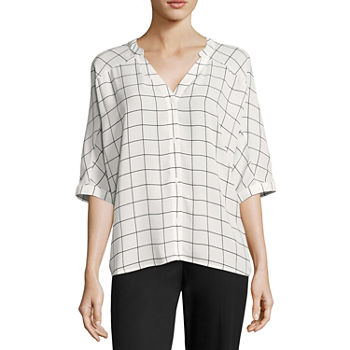 a67b205c059d2 Worthington White Tops for Women - JCPenney