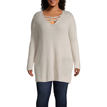 c9c461bf2e7 CLEARANCE Juniors Plus Size Tops for Juniors - JCPenney