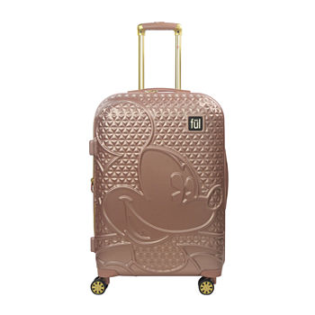 "Ful Disney Mickey Mouse Textured Lightweight 25"" Luggage"