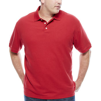 Polo shirts for men mens polo shirts jcpenney for Big and tall quick dry shirts