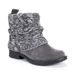Muk Luks Cass Womens Water Resistant Winter Boots