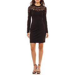 Bisou Bisou Long Sleeve Bodycon Dress