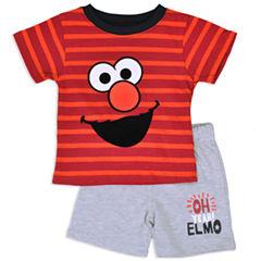 2-pc. Sesame Street Bodysuit Set Newborn Boys