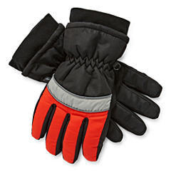 Minus Zero Boys Cold Weather Gloves-Big Kid