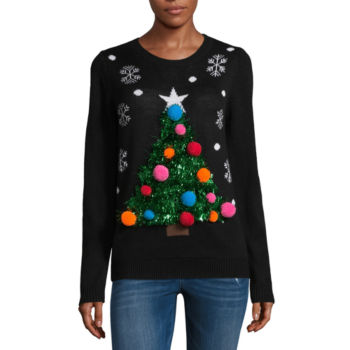 christmas sweaters: ugly & tacky xmas sweaters - jcpenney