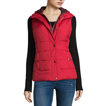 464077598020 Arizona Puffer Vests Coats   Jackets for Women - JCPenney