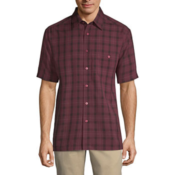 7389f9dd4 Haggar Short Sleeve Shirts for Men - JCPenney