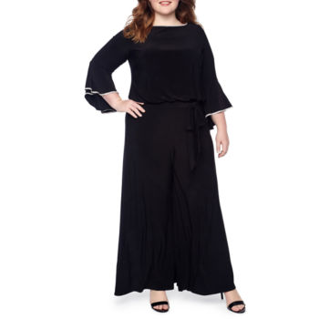 Plus Size Jumpsuits The Wedding Shop For Women Jcpenney