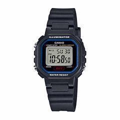 Casio Womens Black Strap Watch-La20wh-1c